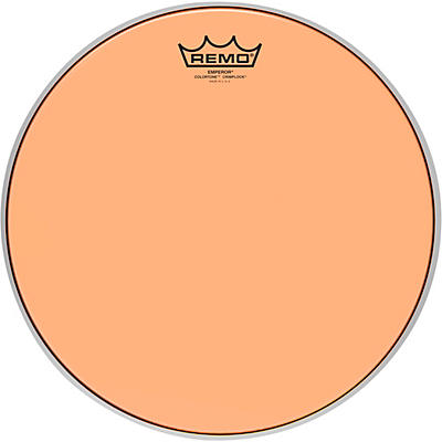 Remo Emperor Colortone Crimplock Orange Tenor Drum Head