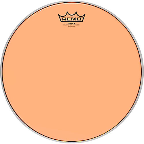 Remo Emperor Colortone Crimplock Orange Tenor Drum Head