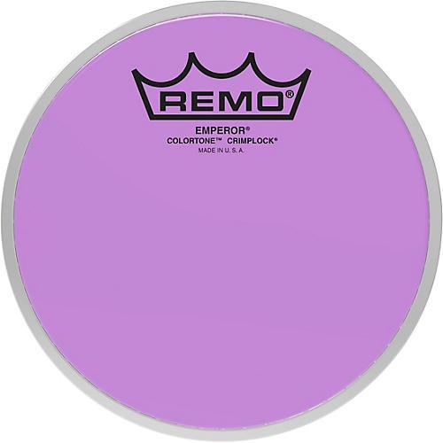 Remo Emperor Colortone Crimplock Purple Tenor Drum Head