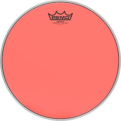 Remo Emperor Colortone Crimplock Red Tenor Drum Head