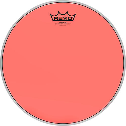 Remo Emperor Colortone Crimplock Red Tenor Drum Head 14 in.