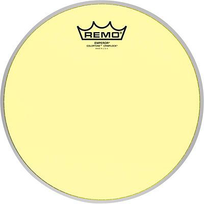Remo Emperor Colortone Crimplock Yellow Tenor Drum Head