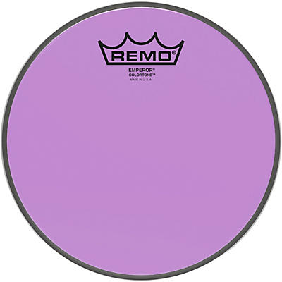 Remo Emperor Colortone Purple Drum Head