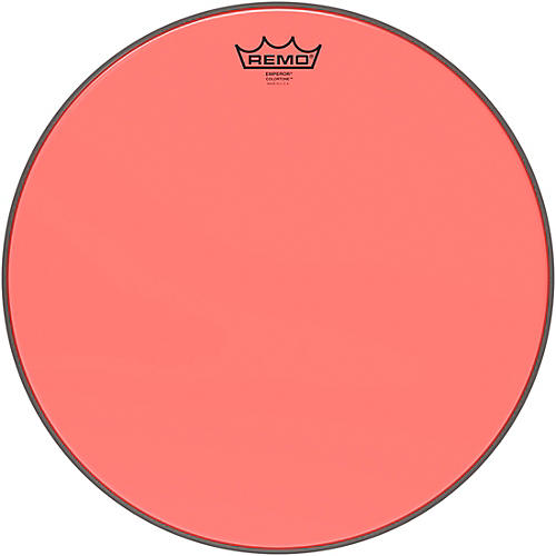 Remo Emperor Colortone Red Drum Head