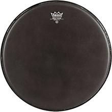 Emperor Ebony Suede Marching Bass Drumhead Black Suede