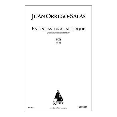 Lauren Keiser Music Publishing En Un Pastoral Albergue (from Romances Pastorales, Op. 10) SATB a cappella Composed by Juan Orrego-Salas