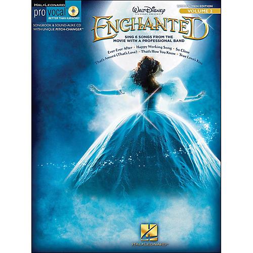 Hal Leonard Enchanted - Pro Vocal Songbook & CD for Women/Men Volume 2