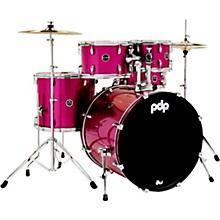 Encore 5-Piece Drum Kit with Hardware and Cymbals Pink Tourmaline