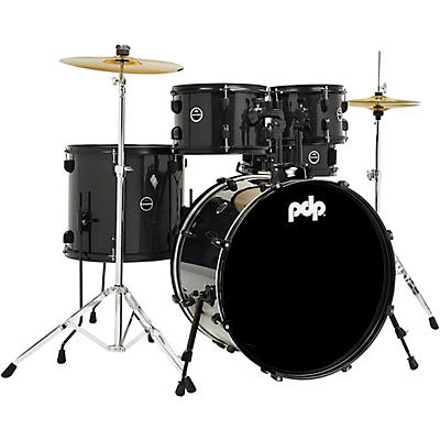 PDP by DW Encore 5-Piece Kit With Black Kit Hardware and Cymbals