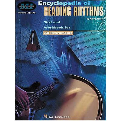 Hal Leonard Encyclopedia Of Reading Rhythms