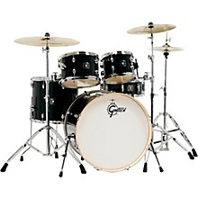 Energy 5-Piece Drum Set With Hardware and Zildjian Cymbals Black