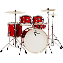 Gretsch Drums Energy 5-Piece Drum Set in Red Sparkle with Hardware and Zildjian Cymbals
