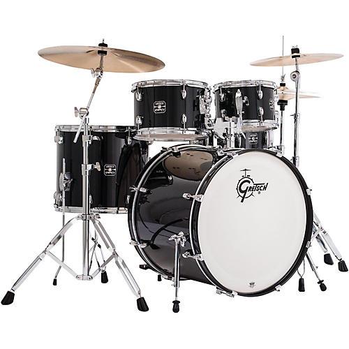 gretsch drums energy 5 piece drum set with hardware musician 39 s friend. Black Bedroom Furniture Sets. Home Design Ideas