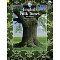 Schott English Folk Tunes for Flute (54 Traditional Pieces) Woodwind Solo Series Softcover with CD thumbnail