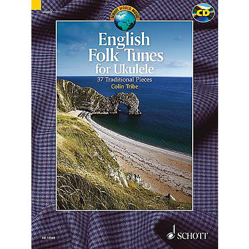 Schott English Folk Tunes for Ukulele (37 Traditional Pieces) Schott Series Softcover with CD