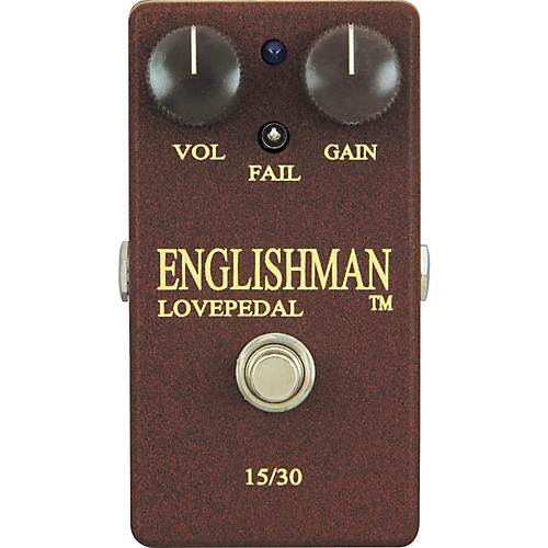 Lovepedal Englishman Overdrive Guitar Effects Pedal