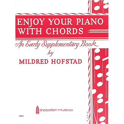 Music Sales Enjoy Your Piano with Chords Music Sales America Series