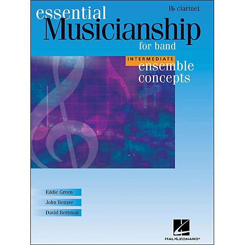 Hal Leonard Ensemble Concepts for Band - Intermediate Level Clarinet