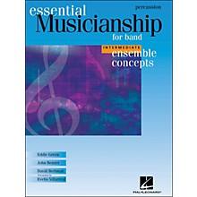 Hal Leonard Ensemble Concepts for Band - Intermediate Level Percussion