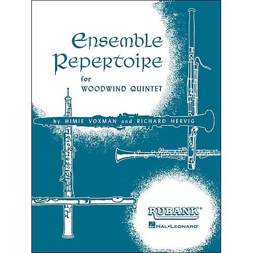 Hal Leonard Ensemble Repertoire for Woodwind Quintet - Full Score
