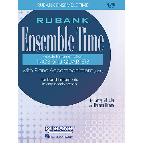 Rubank Publications Ensemble Time - C Flutes (Oboe) (for Instrumental Trio or Quartet Playing) Ensemble Collection Series