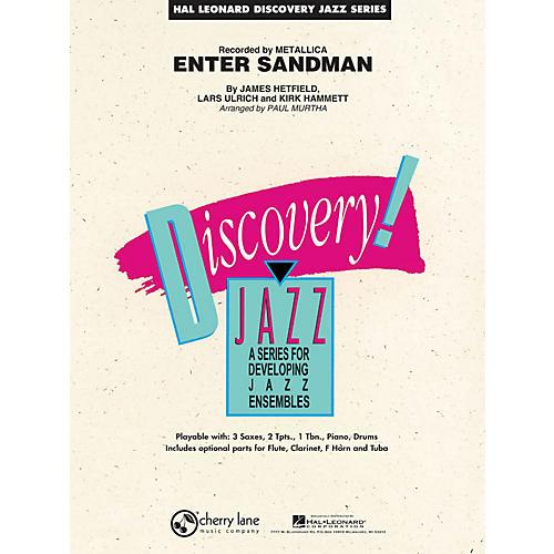 Hal Leonard Enter Sandman - Discovery Jazz Series Level 1.5