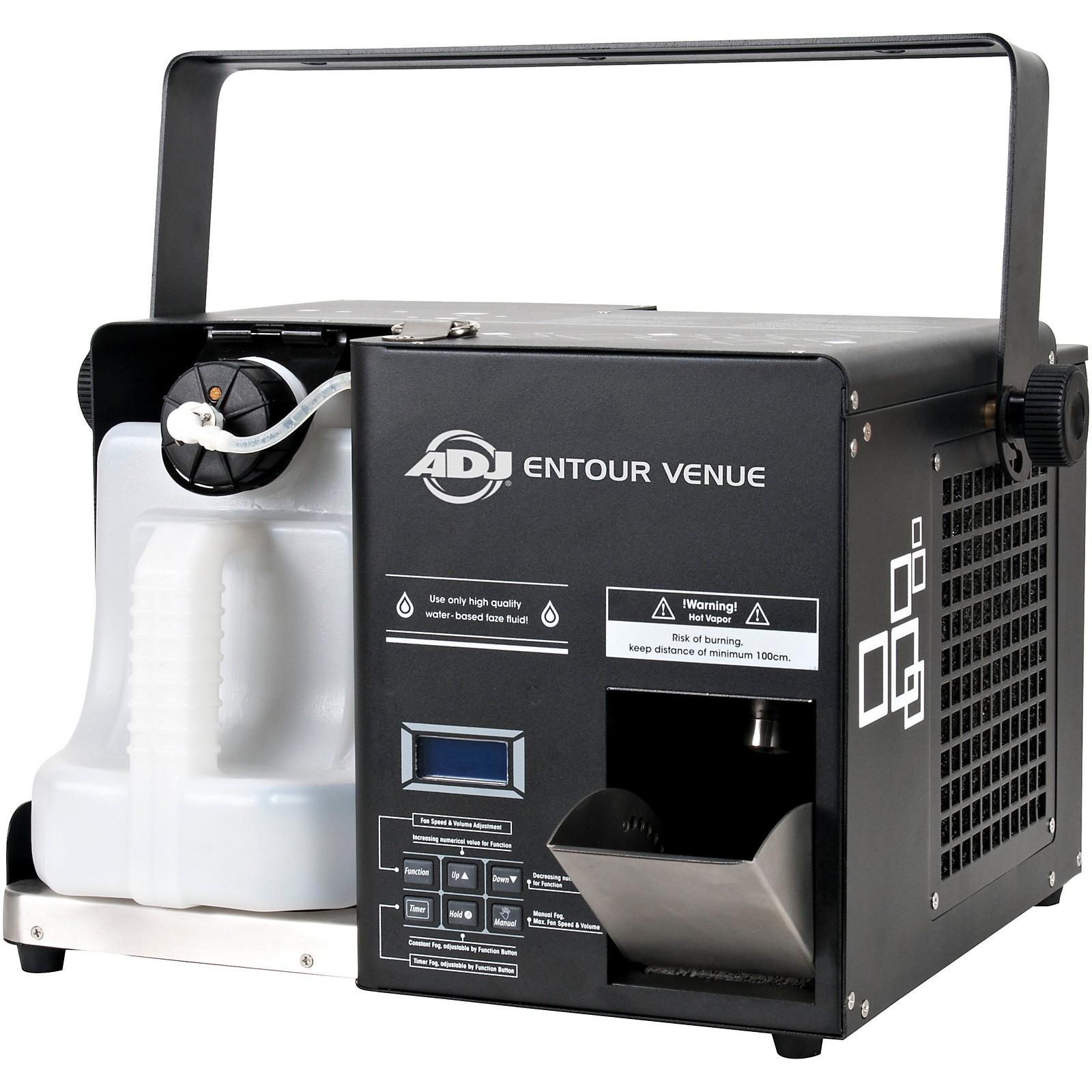 American DJ Entour Venue Professional High-output Mobile Faze Hybrid Fog Haze Machine