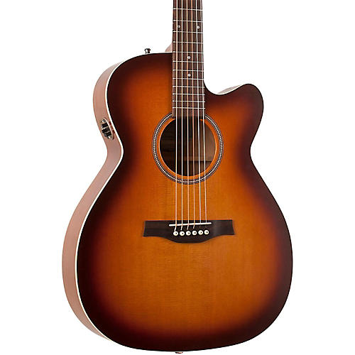 Seagull Entourage Rustic Concert Hall CW QIT Acoustic Electric Guitar