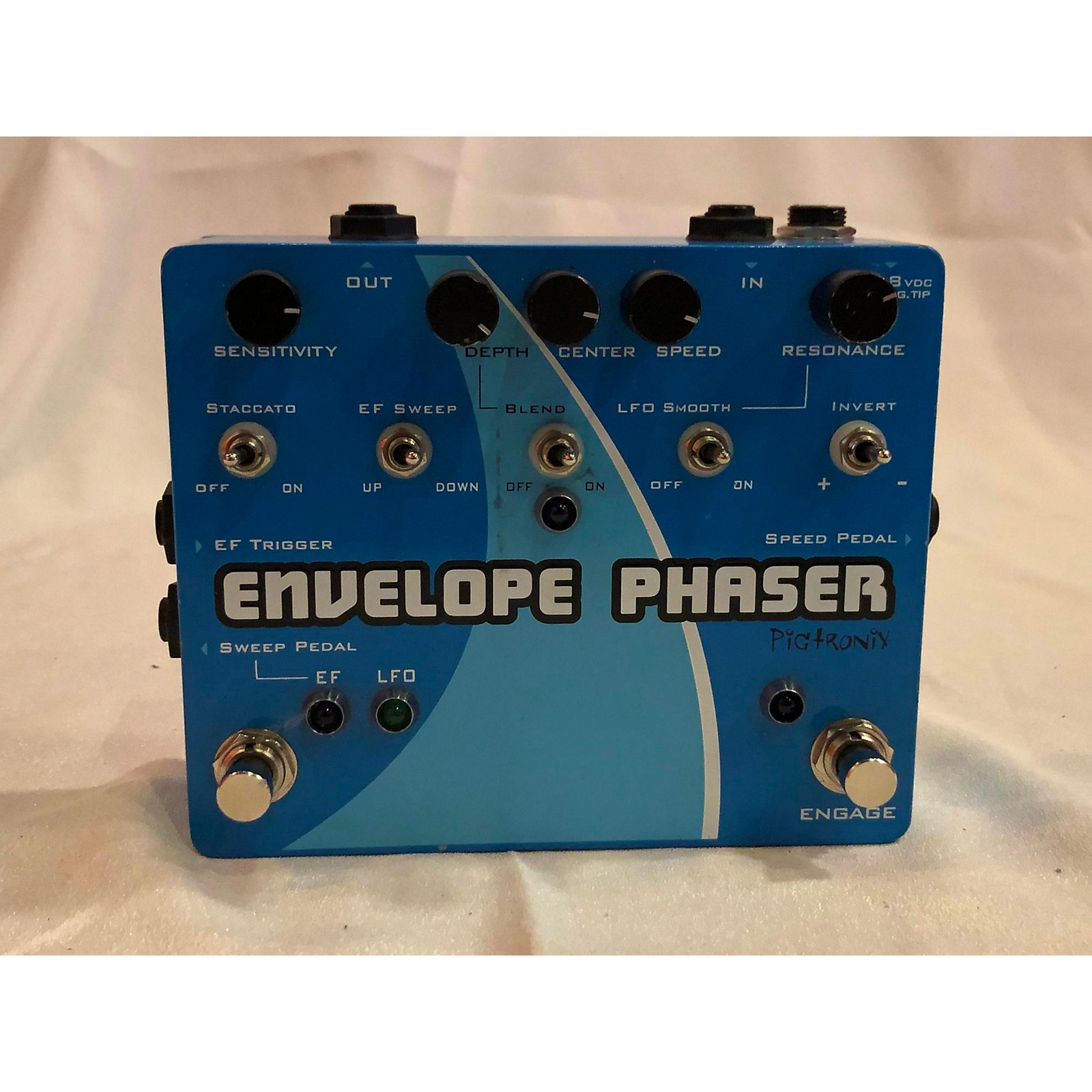 Pigtronix Envelope Phaser Effect Pedal
