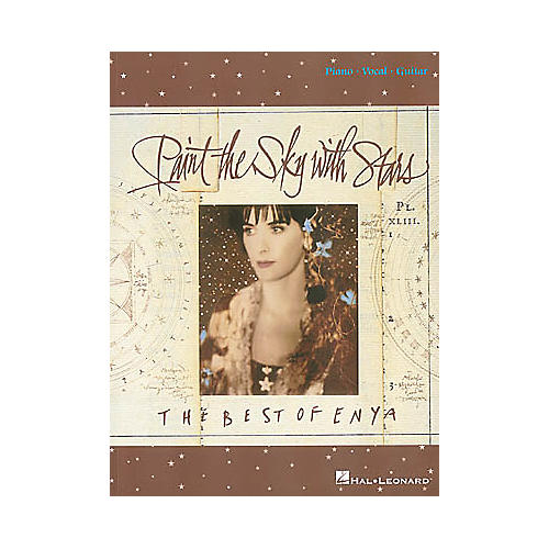 Hal Leonard Enya - Paint the Sky with Stars Book