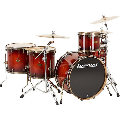Ludwig Epic Pro Beat 5-Piece Shell Pack