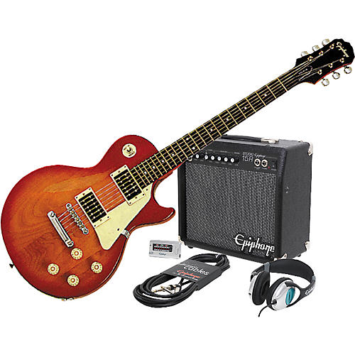 Epiphone Epiphone LP-100 Electric Guitar and All Access Amp Pack