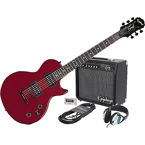 epiphone epiphone les paul special ii electric guitar and all access amp pack musician 39 s friend. Black Bedroom Furniture Sets. Home Design Ideas