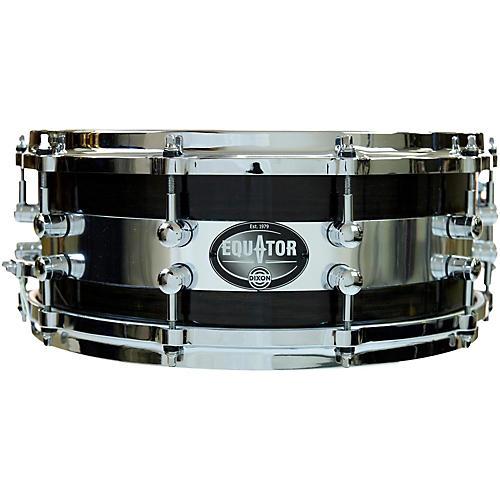 Dixon Equator Series Oak/Steel Snare Drum