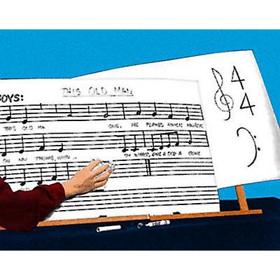 Hal Leonard Erasable Music Chart Boards (6 Pack)