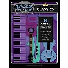 Willis Music Eric Baumgartner's Jazz It Up! - Classics - Bk/CD Willis Series Book with CD (Level Mid-Inter)