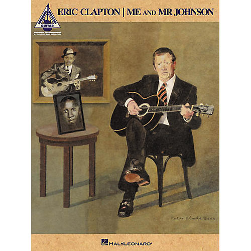 Hal Leonard Eric Clapton - Me & Mr. Johnson Guitar Tab Songbook
