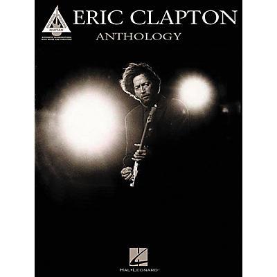 Hal Leonard Eric Clapton Anthology Guitar Tab Songbook