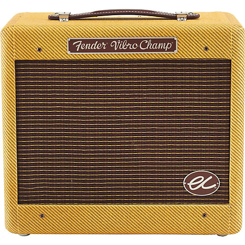 Fender Eric Clapton EC Signature Vibro-Champ  5W 1x8 Hand-Wired Tube Guitar Combo Amp