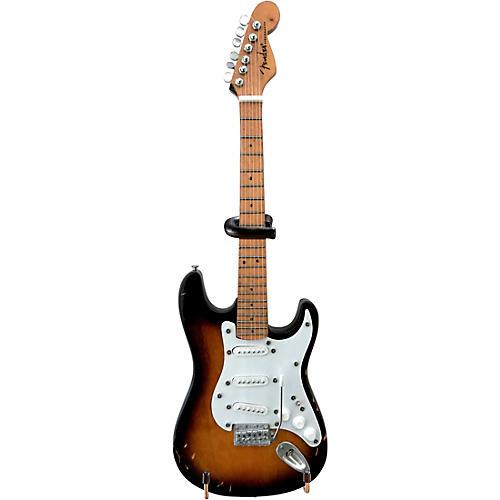 Hal Leonard Eric Clapton's Most Famous Brownie Signature Fender Strat Miniature Guitar Replica
