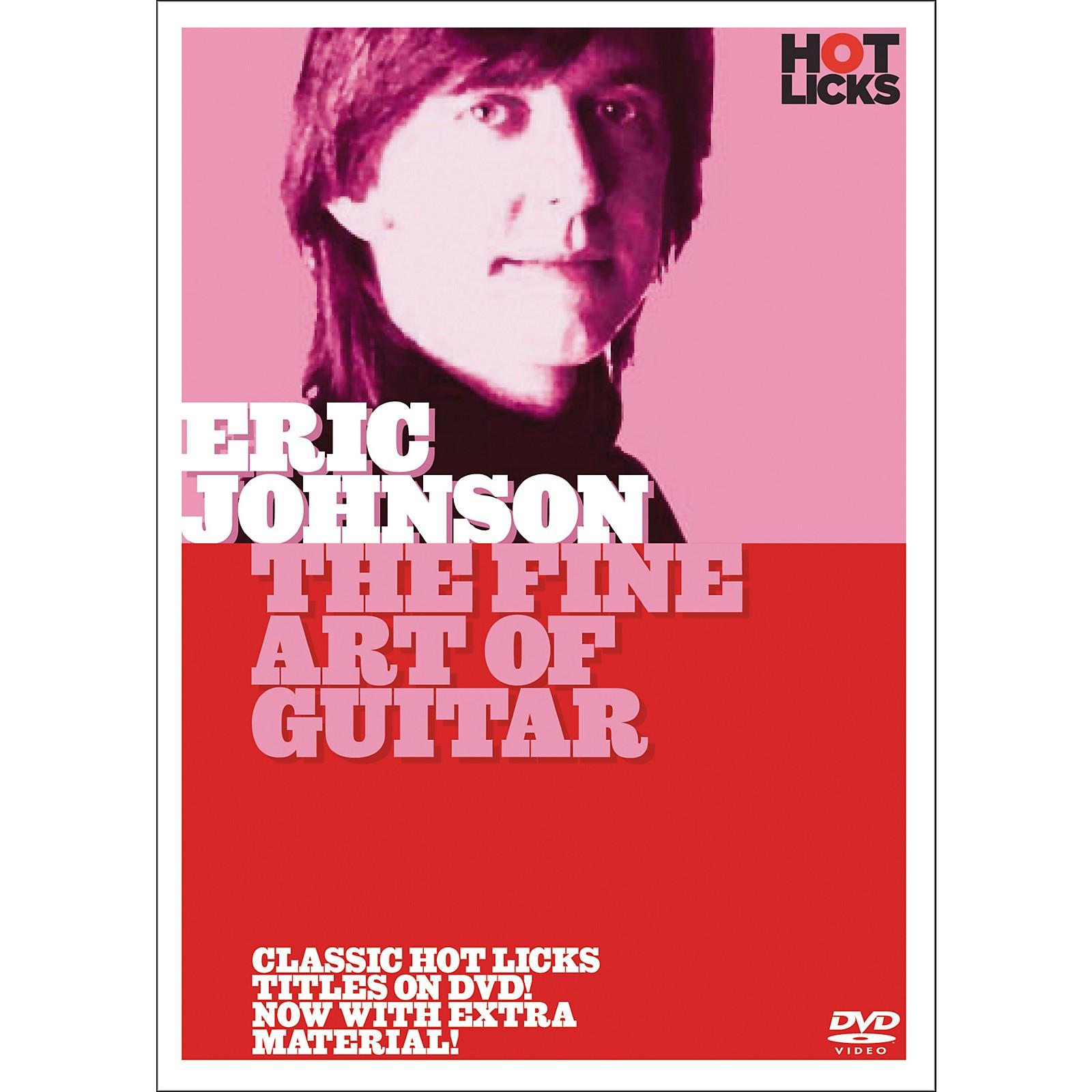 Hot Licks Eric Johnson: The Fine Art Of Guitar (DVD)