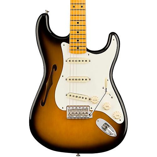 Fender Eric Johnson Thinline Stratocaster Electric Guitar 2-Color Sunburst