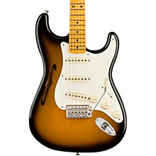 Open BoxFender Eric Johnson Thinline Stratocaster Electric Guitar