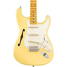 Eric Johnson Thinline Stratocaster Electric Guitar Vintage White