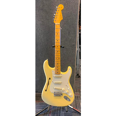Fender Eric Johnson Thinline Stratocaster Hollow Body Electric Guitar