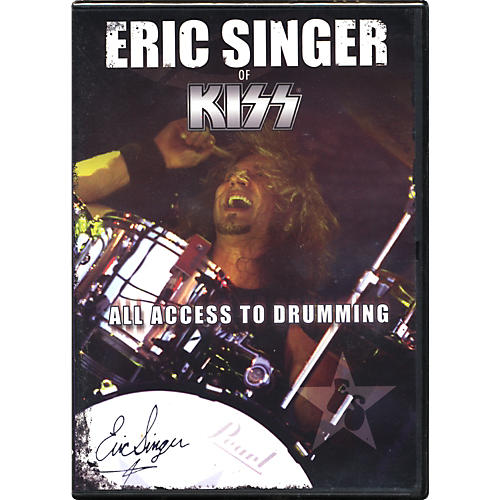 Music Star Productions Eric Singer: All Access To Drumming Dvd