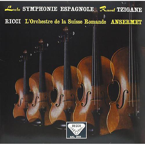 Alliance Ernest Ansermet - Symphonie Espagnole / Tzigane