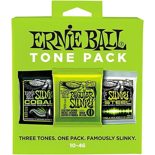 Ernie Ball Ernie Ball Regular Slinky Electric Guitar String Tone Pack