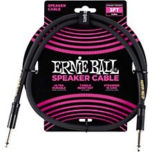 Ernie Ball Ernie Ball Speaker Cable Black Straight/Straight