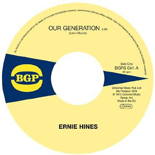Alliance Ernie Hines - Our Generation / Rock Creek Park